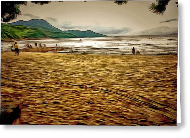 Lamma Island Beach 1 Greeting Card