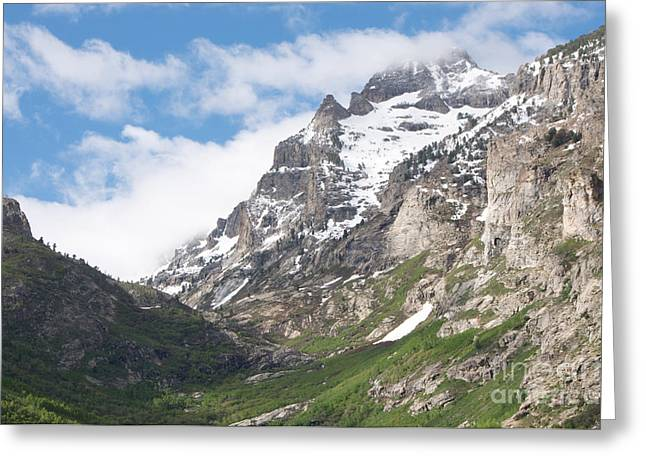 Lamoille Canyon Greeting Card