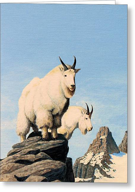 Lamoille Goats Greeting Card