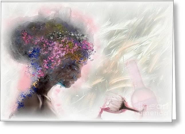 L'amour Perdu Greeting Card by Freddy Kirsheh