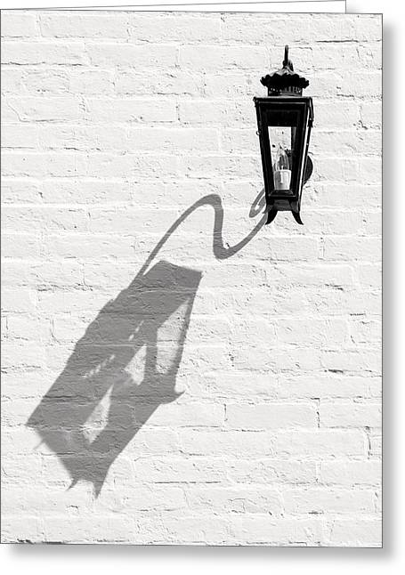 Lamp Shadow Greeting Card