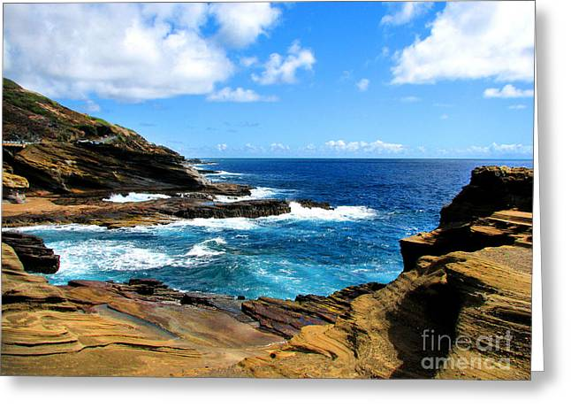 Lanai Scenic Lookout Greeting Card