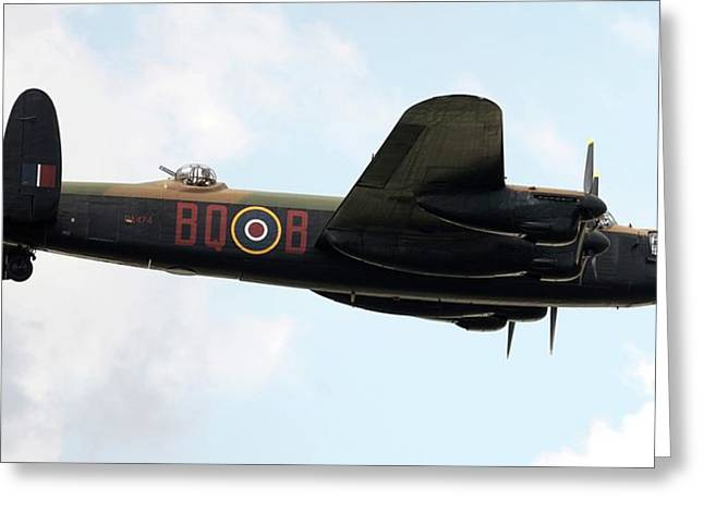 Lancaster Bomber Greeting Card by /us Air Force