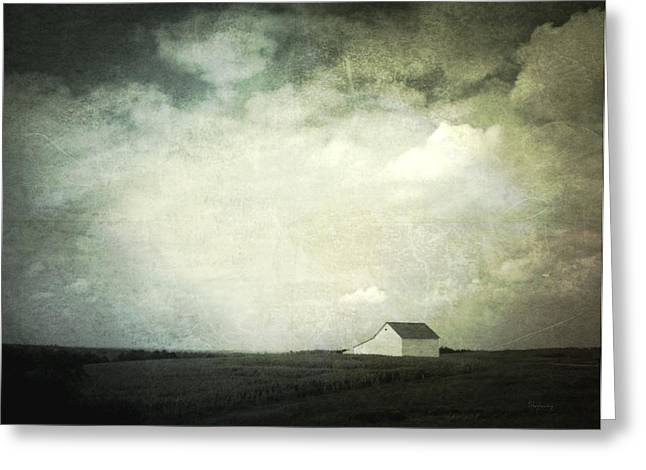 Lancaster Ohio Barn 3 Greeting Card by Cynthia Lassiter