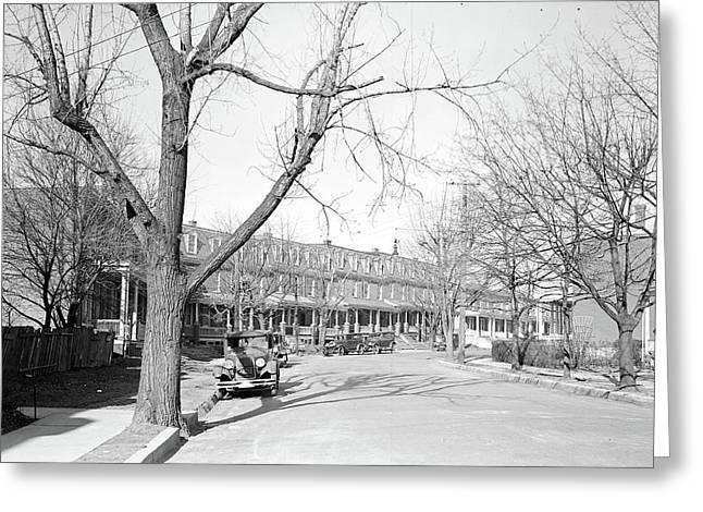 Lancaster, Pennsylvania - Housing. Silk, Linoluem Greeting Card by Litz Collection