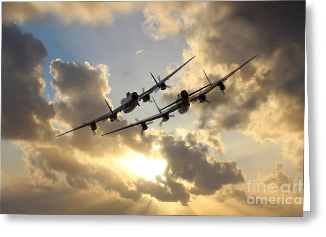 Lancaster Play Time  Greeting Card