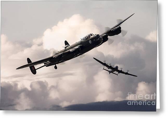 Lancaster Visit  Greeting Card