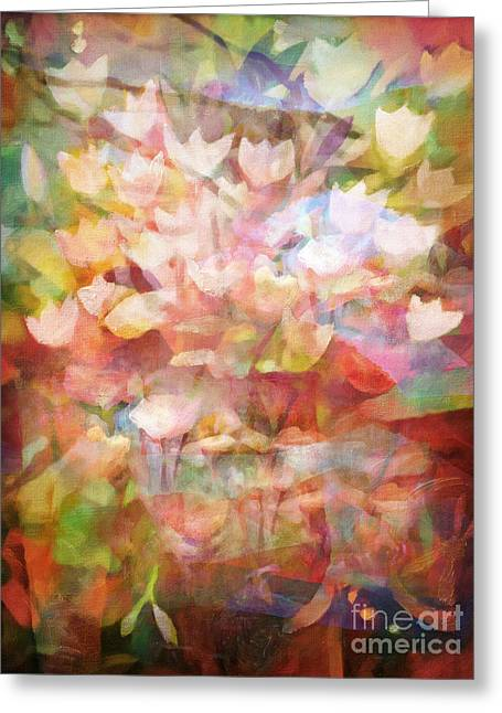 Land Of Flowers Greeting Card
