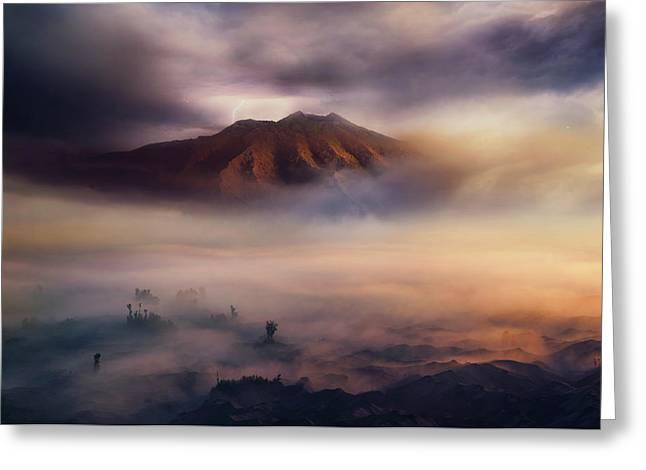 Land Of Fog IIi Greeting Card