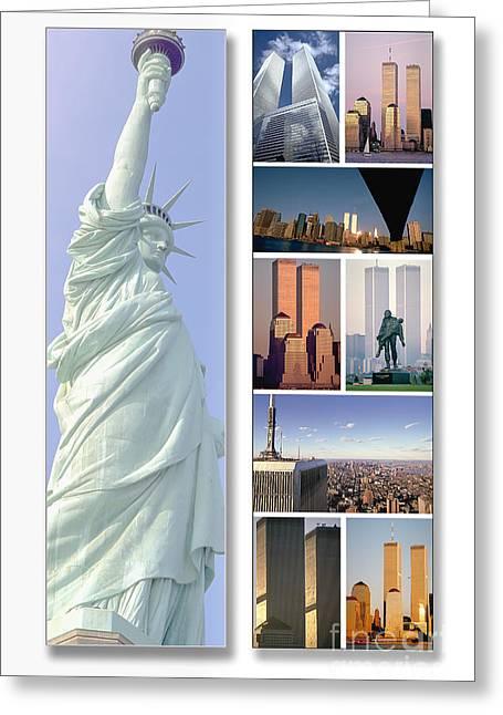 Land Of Liberty Greeting Card by Chuck Spang