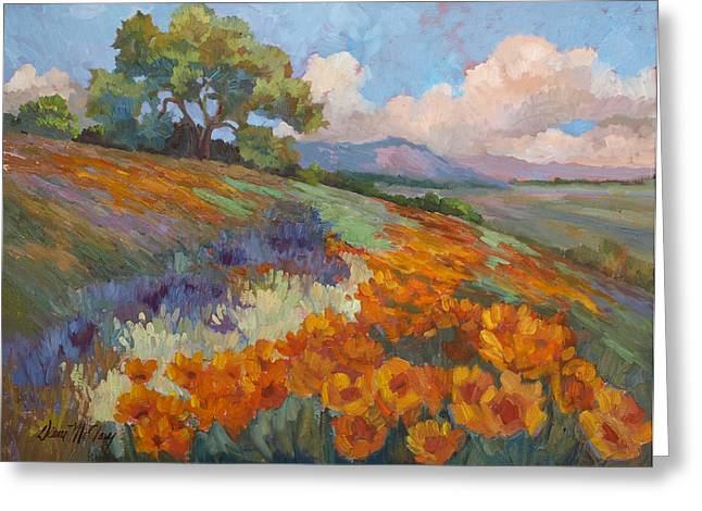 Land Of Sunshine Greeting Card by Diane McClary