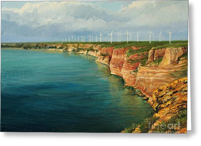 Land Of The Winds Greeting Card by Kiril Stanchev