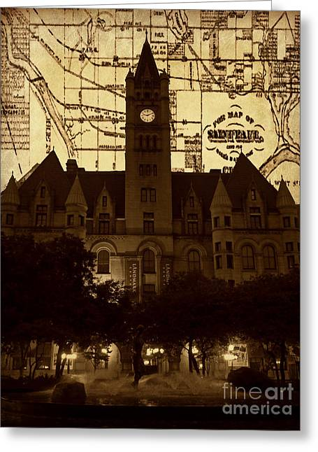 Landmark Center 2 Greeting Card