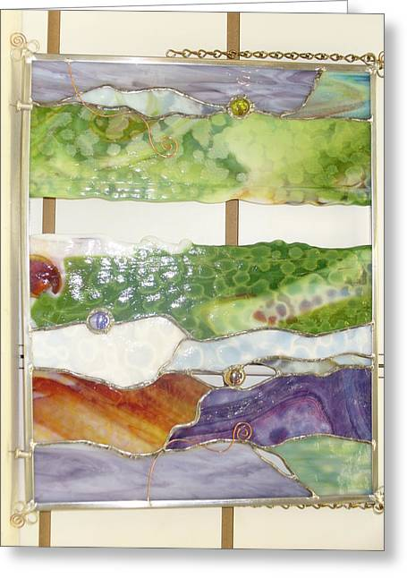 Landscape 2 Greeting Card by Karin Thue