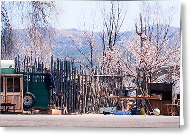 Landscape A10n Taos Nm Greeting Card