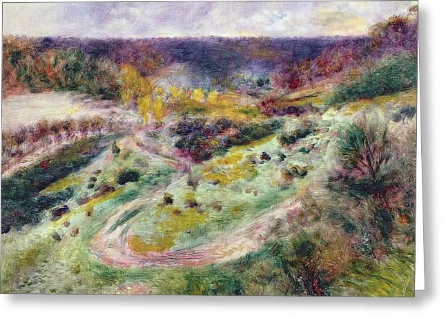 Landscape At Wargemont Greeting Card