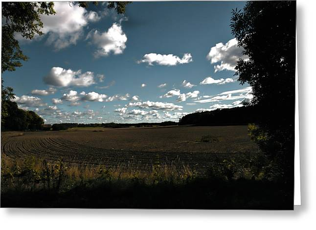 landscape Enkoepingsnaes Greeting Card