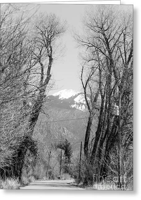 Landscape F10d Taos Nm Greeting Card