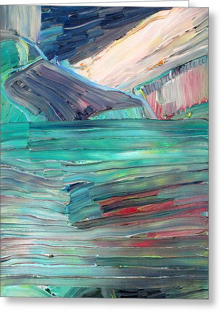 Landscape Greeting Card by Fabrizio Cassetta