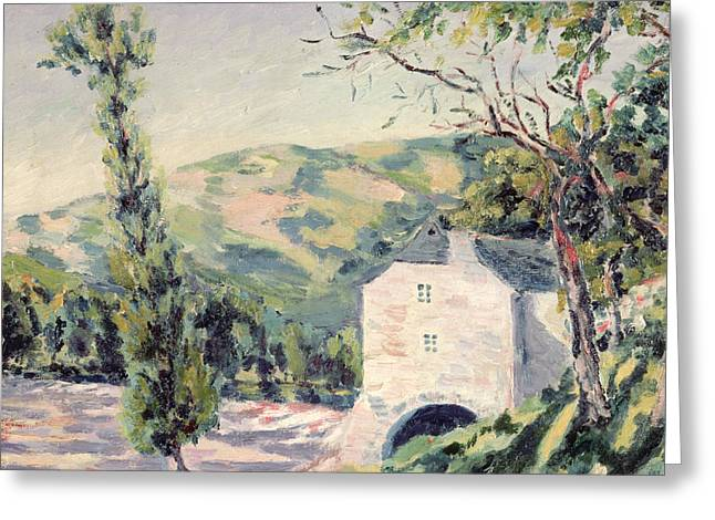 Landscape In Provence Greeting Card
