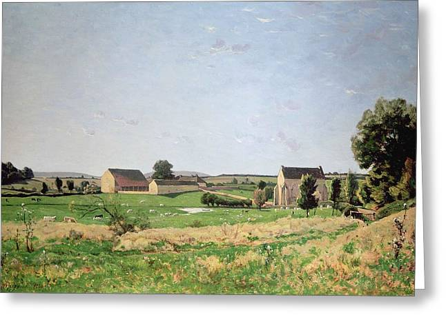 Landscape In Saulce Greeting Card