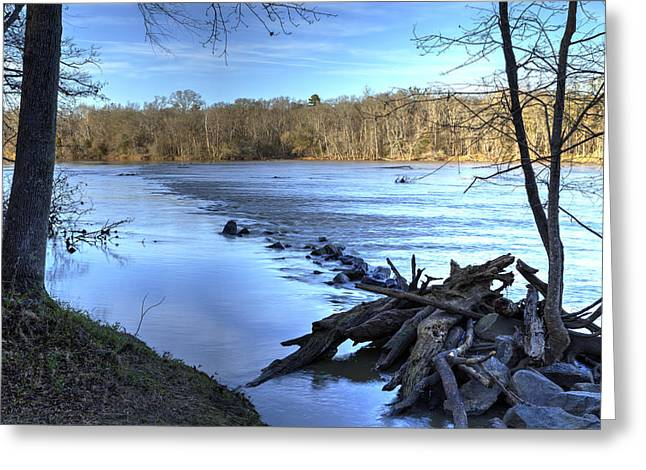 Landsford Canal-1 Greeting Card