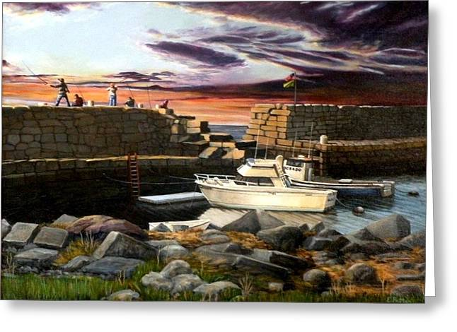 Lanes Cove Gloucester Greeting Card