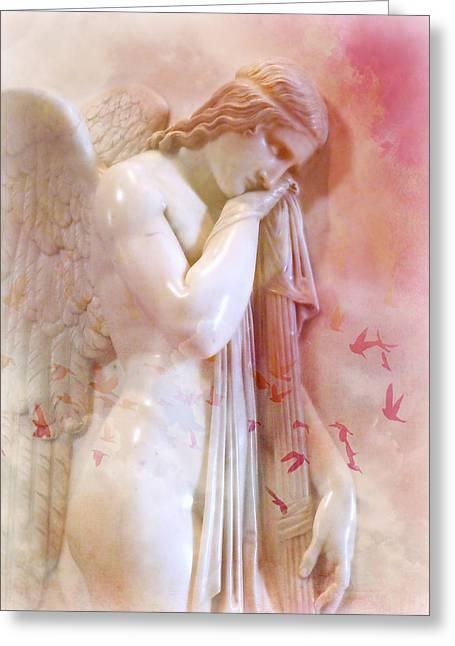 L'angelo Celeste Greeting Card
