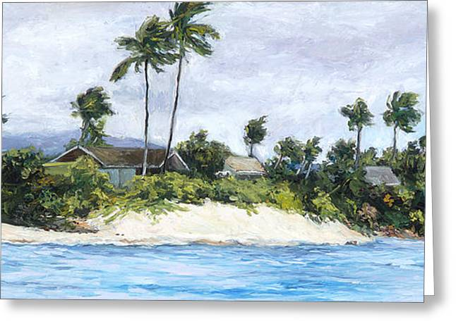 Lanikai Greeting Card by Stacy Vosberg