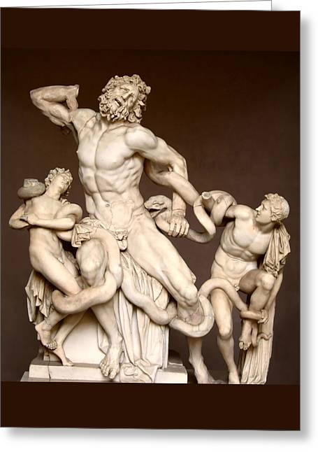 Laocoon And Sons Greeting Card