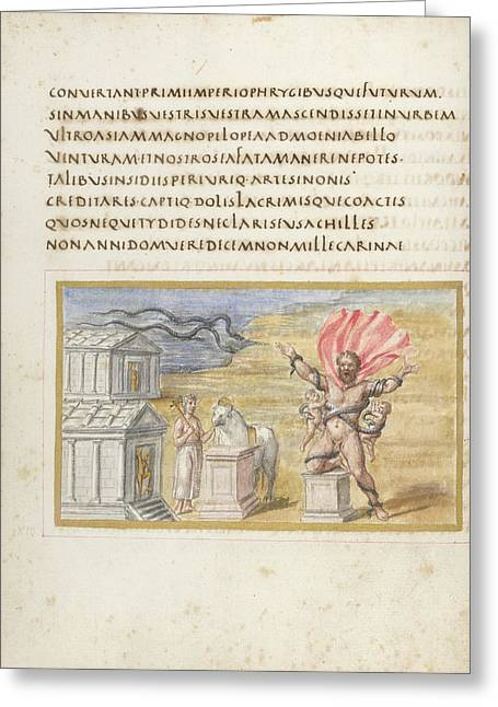 Laocoon Greeting Card by British Library