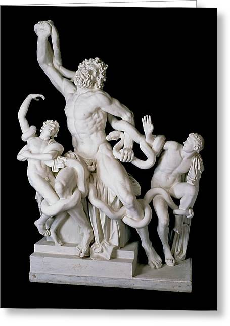 Laocoon Group Greeting Card by Ashmolean Museum/oxford University Images