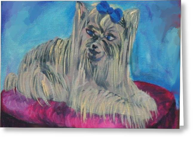 Lap Of Luxury Greeting Card by Gail Daley