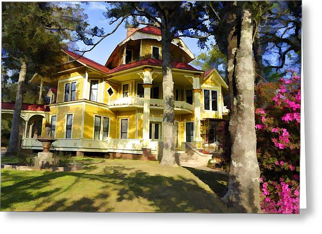 Lapham-patterson House I Greeting Card by Jan Amiss Photography