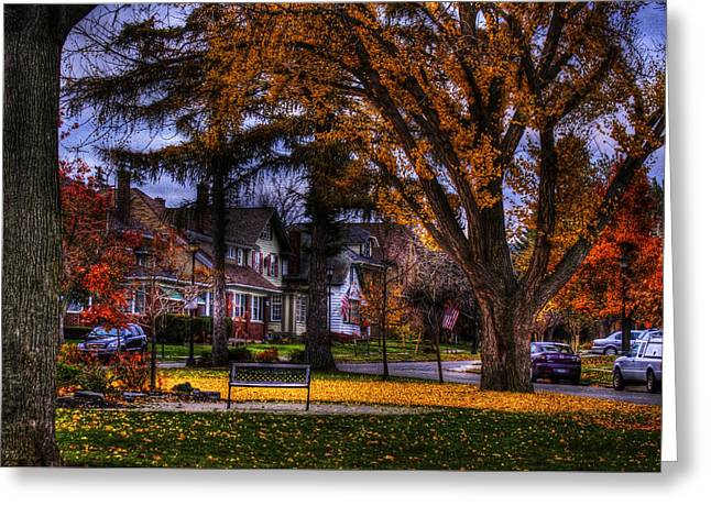 Larchmont-radcliffe Park Greeting Card