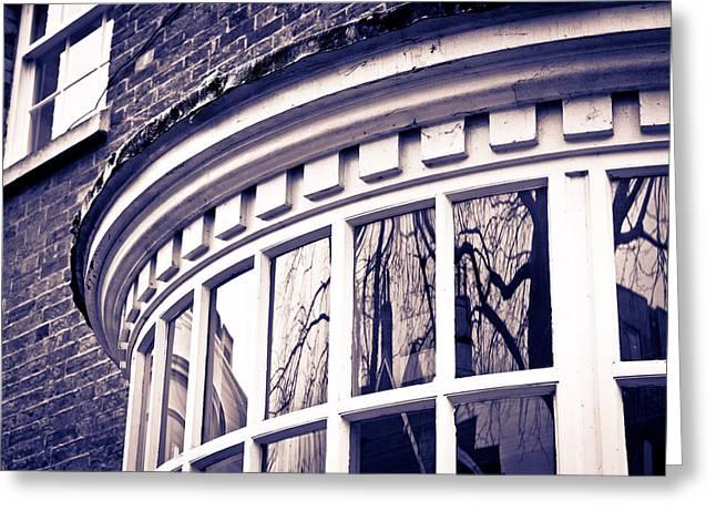 Large Window Greeting Card by Tom Gowanlock