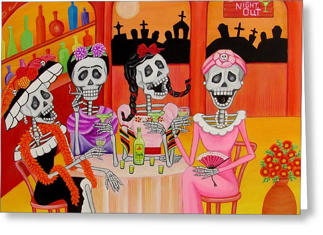 Las Comadres Greeting Card