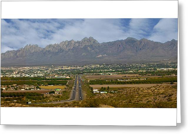 Las Cruces New Mexico Panorama Greeting Card