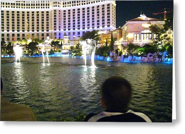 Las Vegas - Bellagio Casino - 121211 Greeting Card by DC Photographer