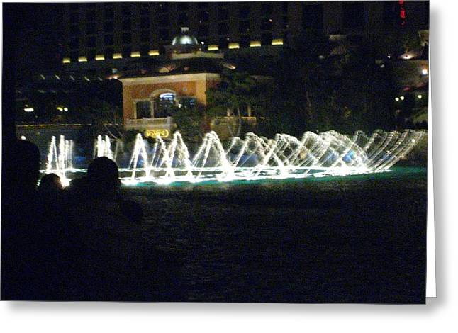 Las Vegas - Bellagio Casino - 121213 Greeting Card by DC Photographer