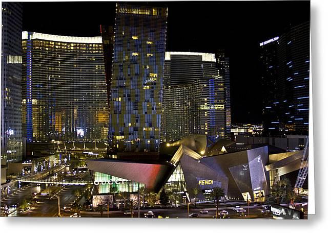 Las Vegas City Center Greeting Card