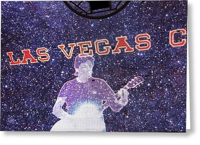 Las Vegas - Fremont Street Experience - 121214 Greeting Card by DC Photographer