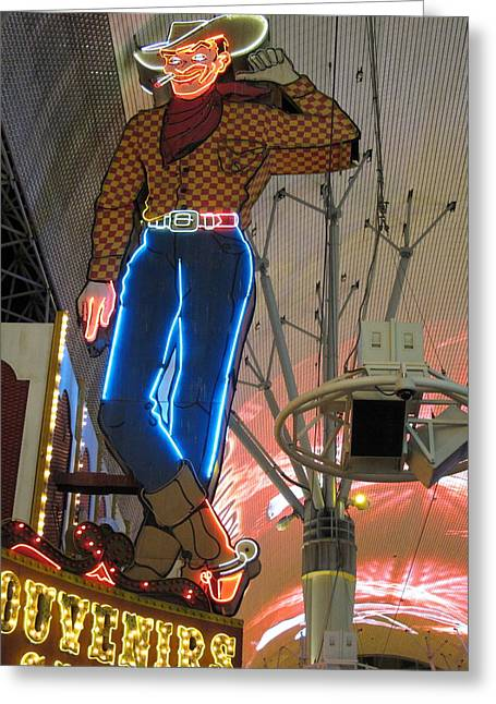 Las Vegas - Fremont Street Experience - 12124 Greeting Card by DC Photographer