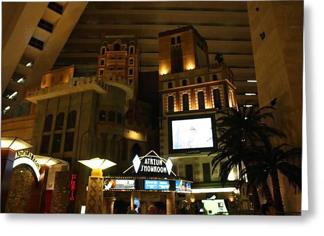 Las Vegas - Luxor Casino - 12128 Greeting Card by DC Photographer