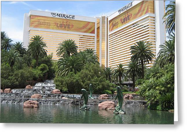Las Vegas - Mirage Casino - 12122 Greeting Card