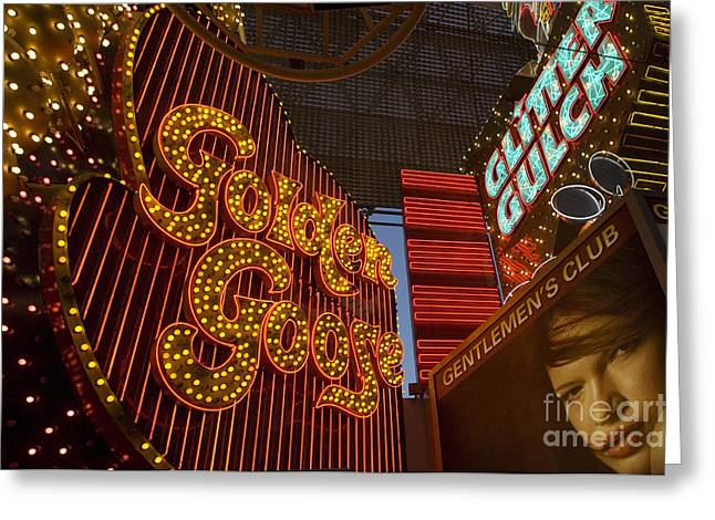 Las Vegas Neon 9 Greeting Card