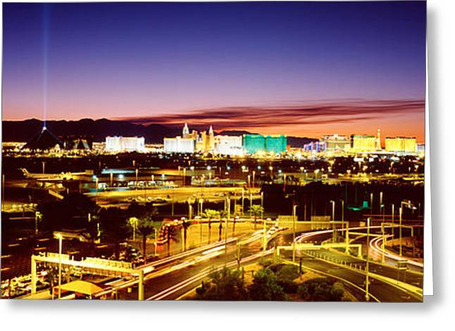 Las Vegas Nv Greeting Card