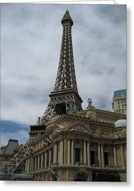 Las Vegas - Paris Casino - 12121 Greeting Card