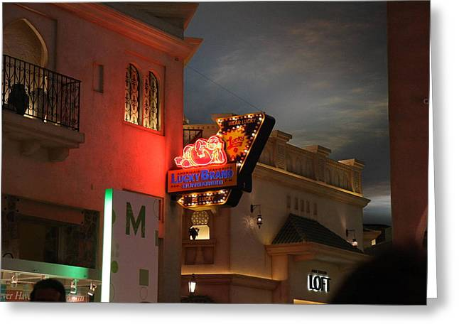 Las Vegas - Planet Hollywood Casino - 12127 Greeting Card by DC Photographer