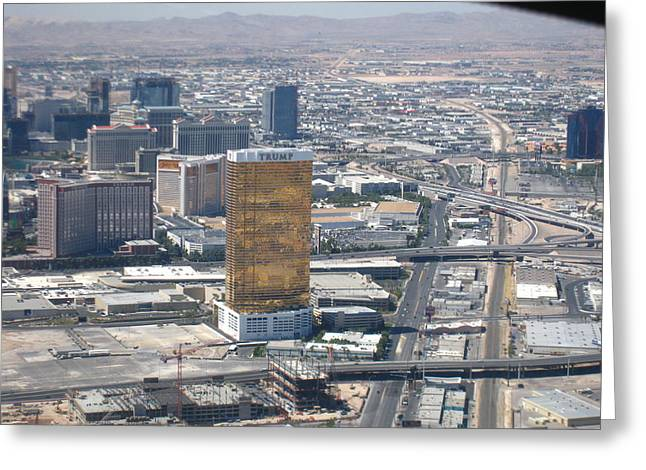 Las Vegas - The Srip - 121229 Greeting Card by DC Photographer